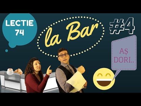 Italianapentruromani - Lecție 74 LA BAR #4 + DIALOG MODEL