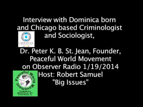 Dr  St  Jean's interview on Observer Radio 1 19 14
