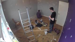 Gopro Timelapse #3 Decorating Our Bedroom