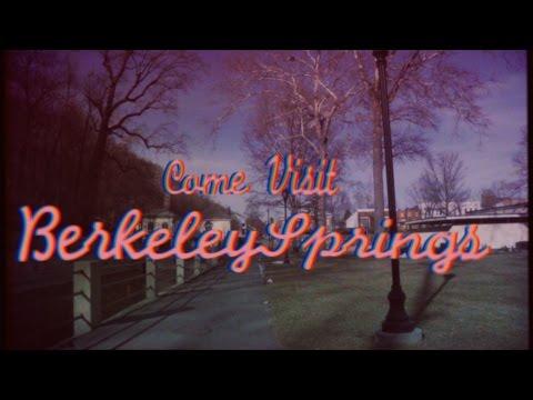 """Visit Berkeley Springs"" Classic 1950's West Virginia Travel Film"