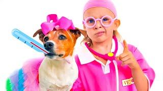 Boo Boo Geschichte für Kinder über Tiere von Maya und Mary