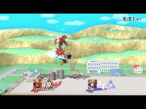 QC Monthly #4 Wii U Singles Pro Bracket: B-Cash(Link) vs Nurse(Captain Falcon)