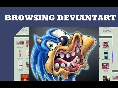 Browsing Deviantart: Joke Art