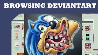 Browsing Deviantart: Joke Art thumbnail