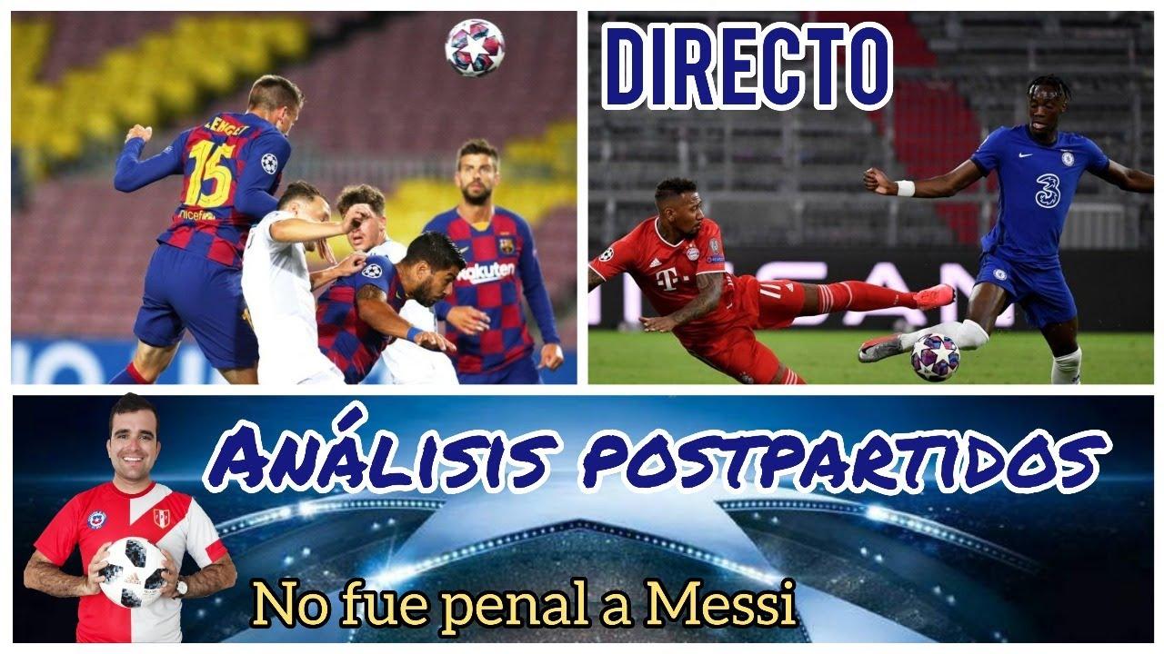 Champions League - Análisis postpartidos
