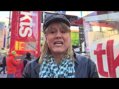 Patti Honacki explains how to get Broadway tickets from the TKTS Booth in New York City.  video for