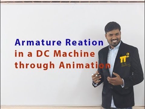 Armature reaction | Cross magnetising AT | Compensation techniques | Animation | PiSquare Academy