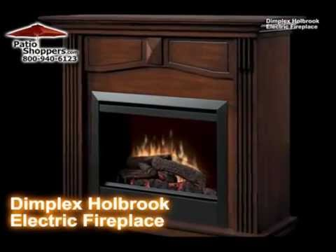 Dimplex DFP4765BW Holbrook Indoor Electric Fireplace   YouTube