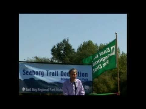 Seaborg Trail Dedication son David Seaborg wife Helen Griggs OCT2004