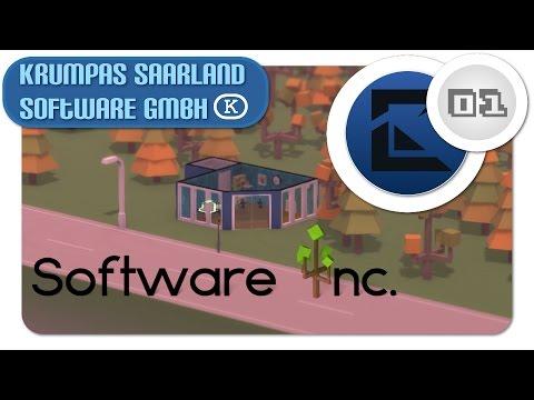 Let's Play Software Inc. - Krumpas Saarland Software GmbH #001 Firmengründung [HD/Deutsch]