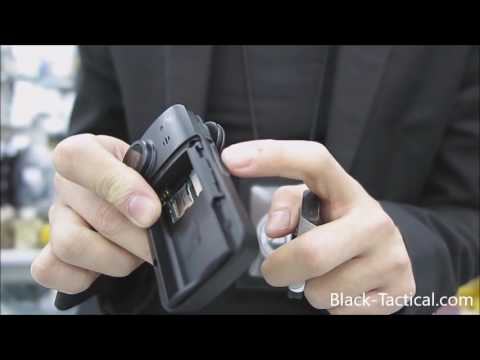 Black Stealth - Professional Police Security Body Camera
