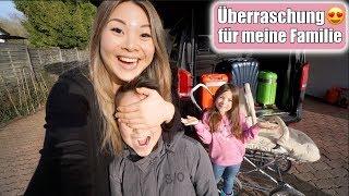 Wo geht es hin? 🙊 Live Reaktion von Johann & Clara! XXL Roomtour Timmendorfer Strand | Mamiseelen