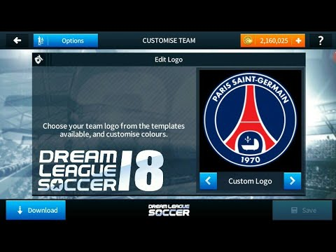 How To Import Psg (Paris Saint Germain) Logo And Kits In Dream League  soccer 2018