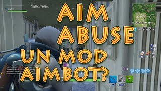 Un mod AIMBOT ?!! Test AIM ABUSE Strike Pack (en anglais seulement) FORTNITE PS4 FR