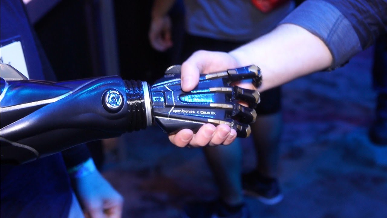 There are Prosthetics, and Then the Deus Ex Bionic Arm