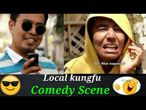 Local KungFu Part 1 - Funny Scenes // Local Kungfu 1 - Comedy (Bonzo) // Montu Da