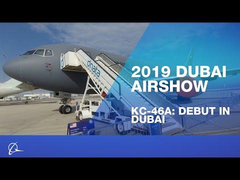 Boeing KC-46 at Dubai Airshow