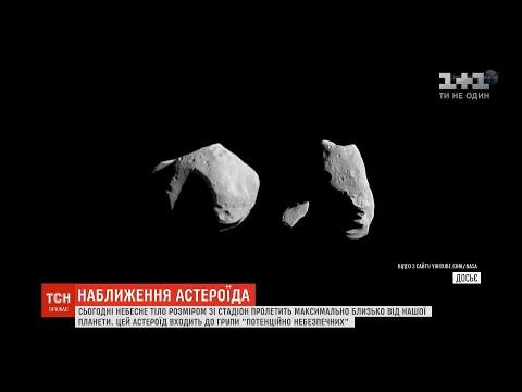 Астероїд наближається: сьогодні