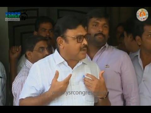 HYD : YSRCP Leader Ambati Rambabu slams ABN Radhakrishna on Broadcasting issues - 10th Jun 2016