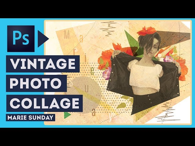 Vintage Photo Collage || Photoshop Tutorial