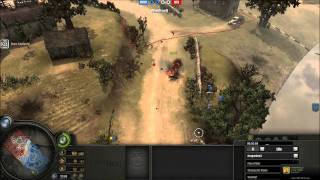 Company Of Heroes Panzer Elite Guide - (Rush PG Tactics with commentary)