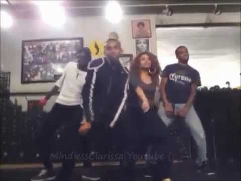 Prodigy Dancing to 'Bassline' by Chris Brown