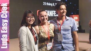 Я с мужем и сыном на конференции ЮТУБ YouTube FanFest HoChiMinh 2017 ЮТУБ ФАНФЕСТ #ytffvn