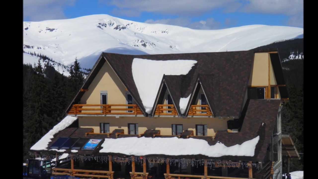 Ranca Ski Resort In The Parang Mountains, Romania Stock ...  |Ranca