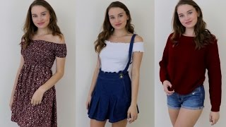 ASMR Whispered Summer Clothing Haul