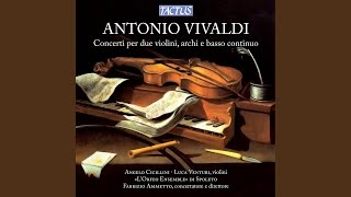 Concerto for 2 Violins in A Major, RV 520 (reconstructed by F. Ammetto) : III. Allegro