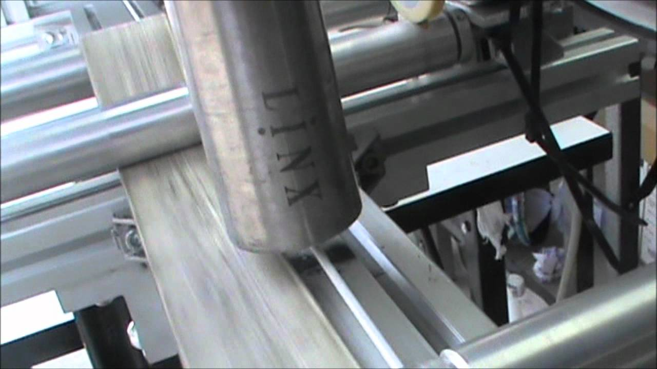 Wire and Cable marking by LINX 4900 CIJ - YouTube