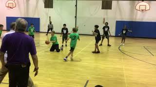 Y.E.S. League Black vs Green Team -Marvin and Joel Guthrie Coach David