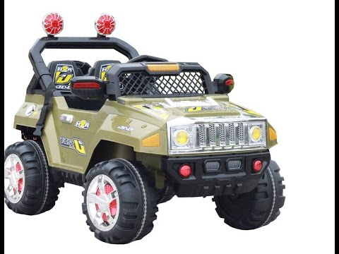 Hummer Kids Ride On Car Toy Youtube