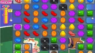candy crush saga level 410 (w/o booster)