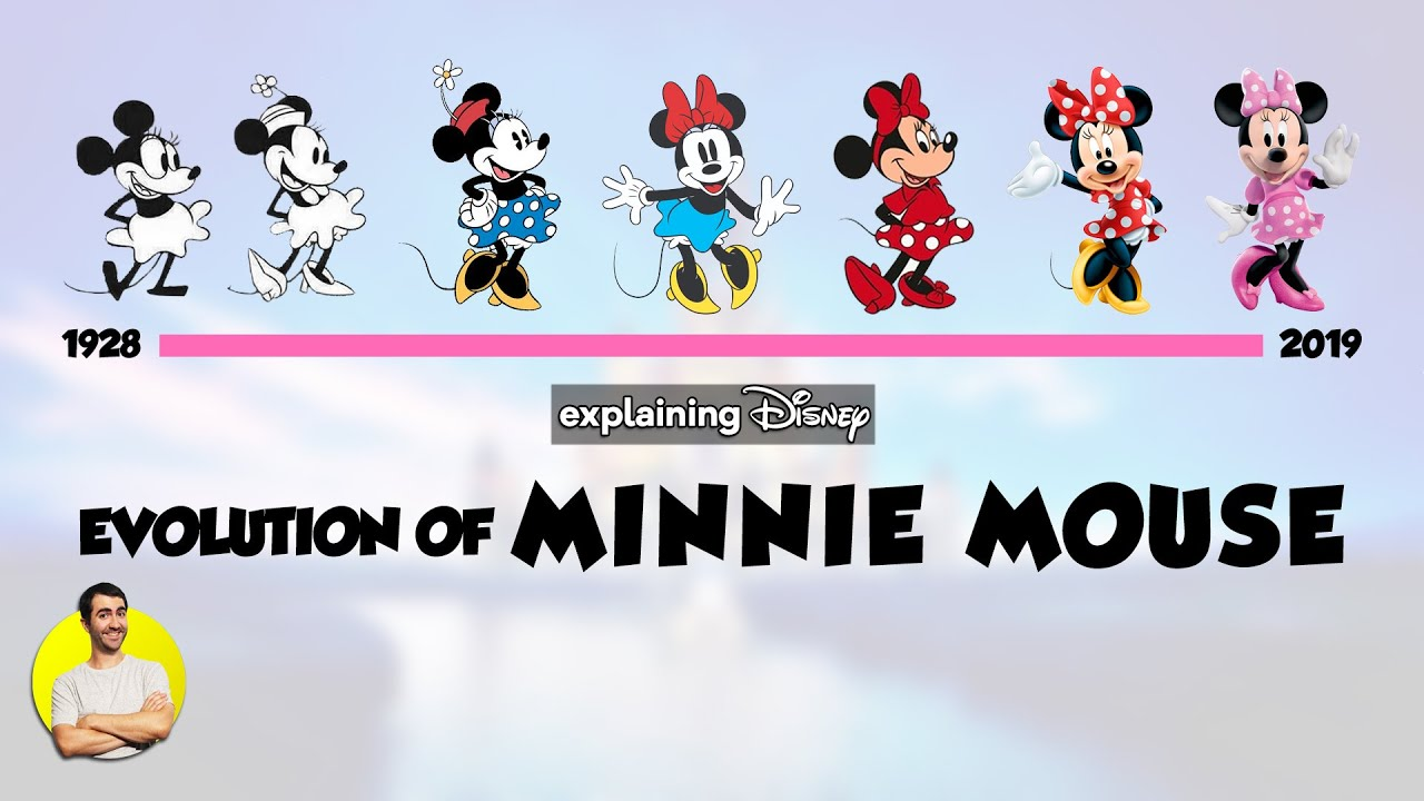 Evolution Of Minnie Mouse Over 91 Years 1928 2019 Explained