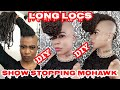 Tutorial: Long Locs-- DIY Show Stopping Mohawk