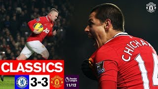 PL Classics | Rooney inspires memorable comeback at Stamford Bridge | Chelsea 3-3 United (11/12)