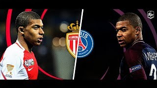Mbappé in Monaco vs Mbappé in PSG | HD