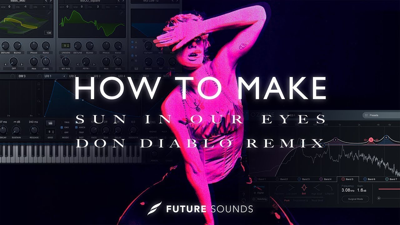 HOW TO MAKE:MØ & Diplo - Sun In Our Eyes (Don Diablo Remix) [Remake]
