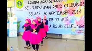 Lomba cuci tangan RSUD Cileungsi K.bogor (Bagian Prolap & Gudang)