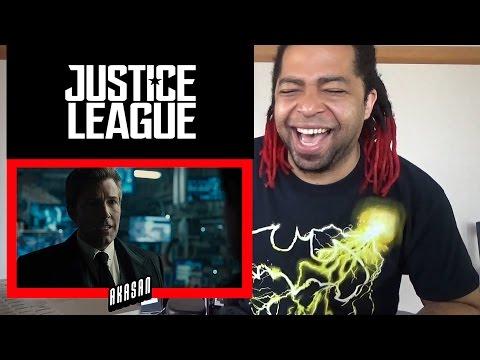 Justice League Special Comic-Con Footage - REACTION!!
