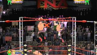 TNA Impact Ultimate X FFA Alex Shelley vs AJ Styles vs Chris Sabin full match
