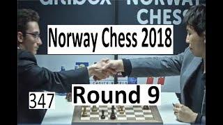 Norway Chess Round 9: Drama in Caruana-So!