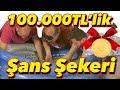 100,000 Liralık Şans Şekeri ile Dolu Havuzda Altın Arama Yarışması