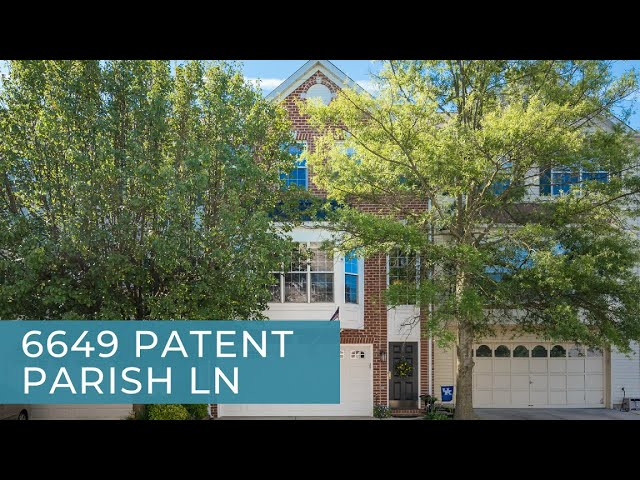 6649 Patent Parish Ln Alexandria VA 22315 Listing Video