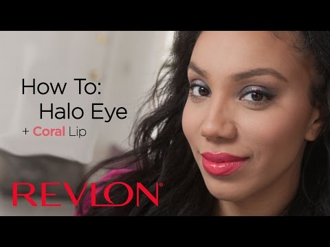 How to: Halo Eye and a Bright Coral Lip with Alyssa Forever | Revlon