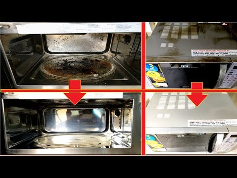 The Best Way to Clean Dirty Microwave Oven At Home
