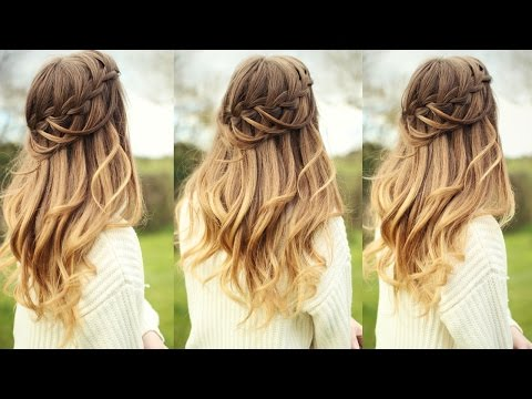 DIY Looped Waterfall Braid 2020