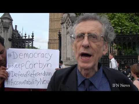 Interview With Piers Corbyn @ the Jeremy Corbyn Rally  27.06.2016 Parliment Square