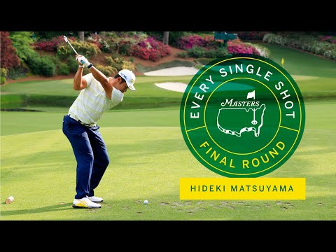 Every Shot From Hideki Matsuyama's Final Round | The Masters